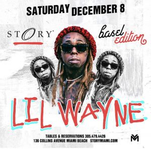 MIA - Lil Wayne 12/8 @ Story  |  |  |