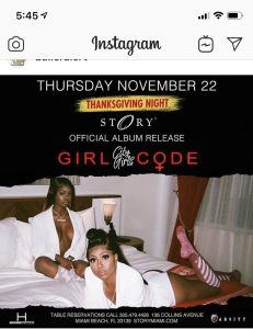 MIA - City Girls 11/22 @ Story |  |  |