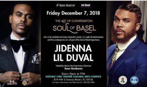 MIA- Jidenna & Lil Duval 12:7 @ Historic Lyric Theater Cultural Arts Complex |  |  |