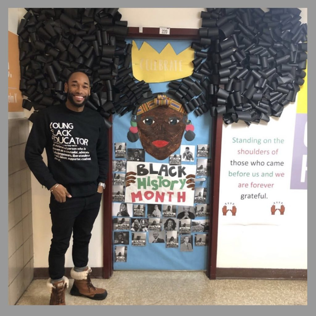 History Classroom Decoration ~ Black educators celebrate history month by