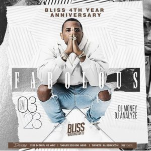 Bliss 4th Year Anniversary Featuring Fabolous @ Bliss Nightclub