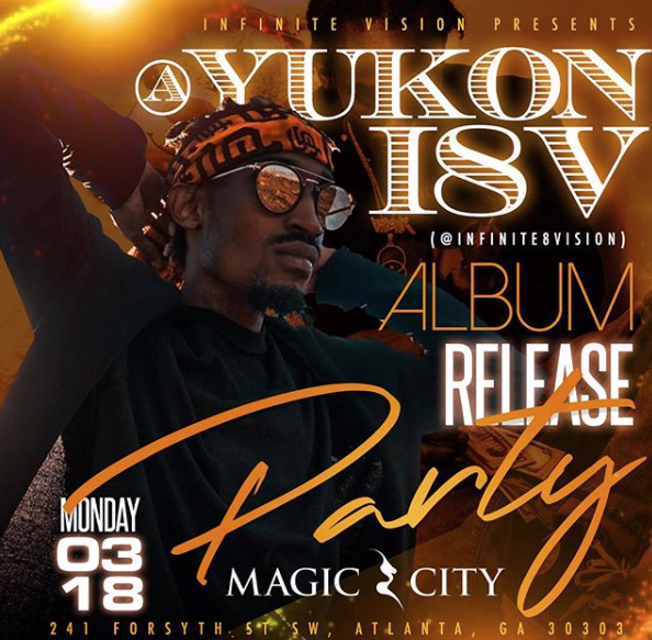 Yukon I8V Album Release Party @ Magic City Atlanta