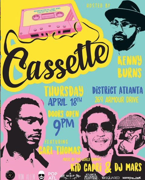 ATLANTA - CASSETTE @ DISTRICT ATLANTA