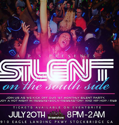 Atlanta - Silent Party - July 20th