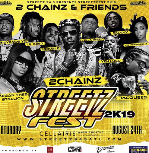 Atlanta - StreetzFest 2k19 @ Cellairis Amphitheater