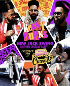 "#Atlanta - Casette ATL ""NEW JACK SWiNG"" Birthday Halloween Extravaganza"