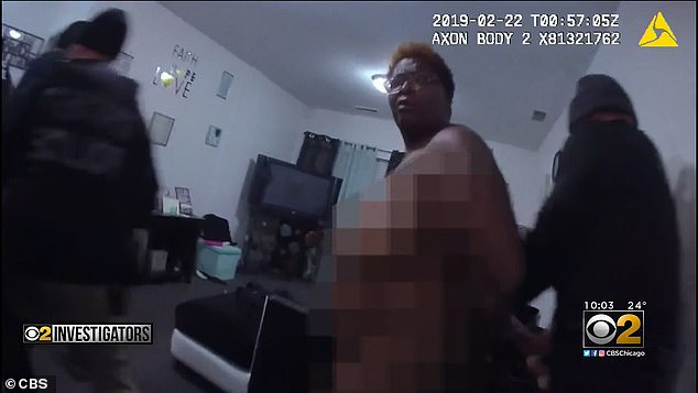 Youre in the wrong place, the body camera video shows
