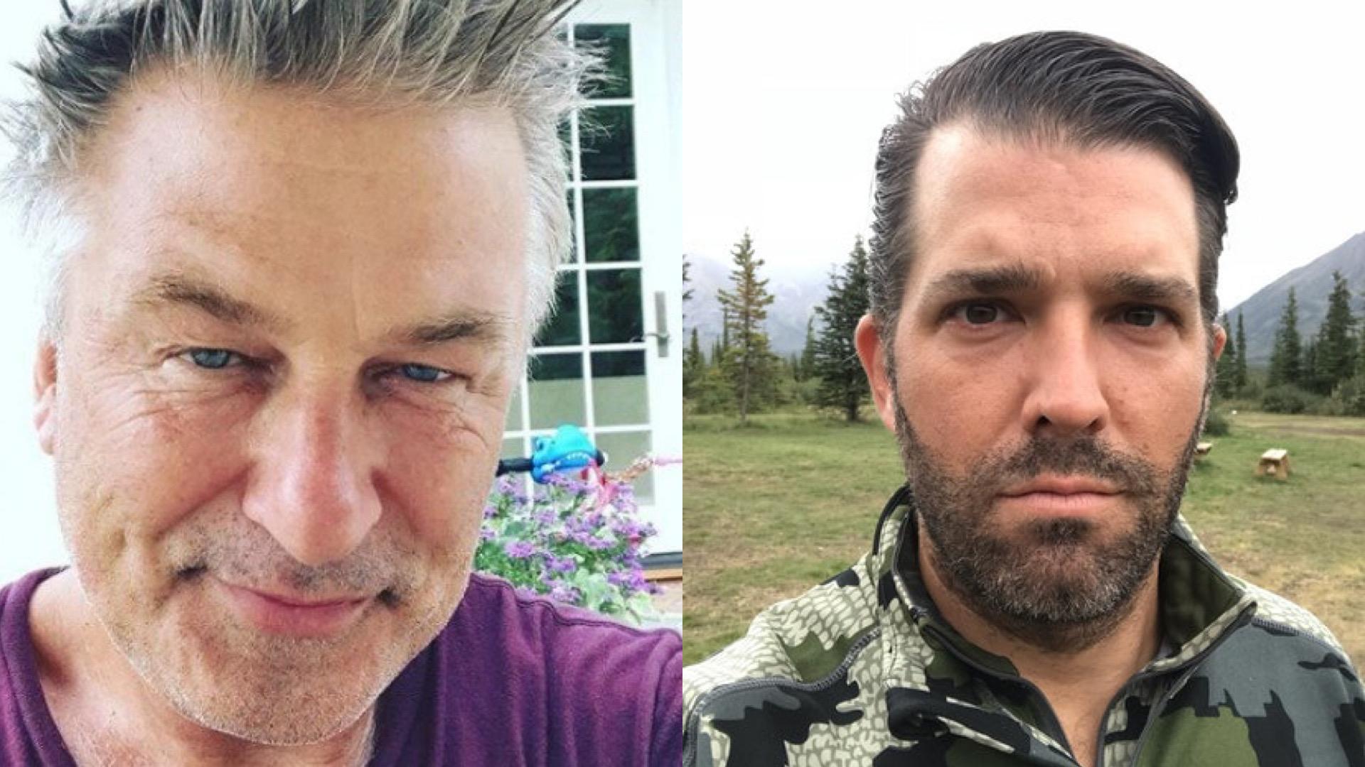 Donald Trump Jr. Makes T-Shirt Mocking Death of the 'Rust' Cinematographer Fatally Shot on Set: 'Guns Don't Kill People, Alex Baldwin Kills People'